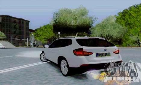 Bmw X1 для GTA San Andreas вид сзади