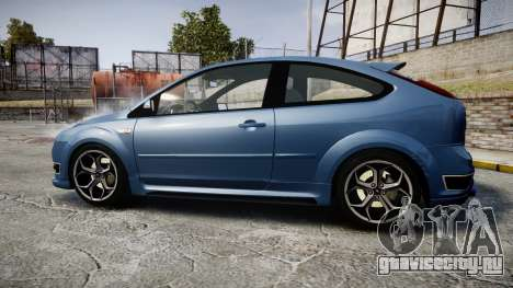 Ford Focus ST 2005 Rieger Edition для GTA 4 вид слева