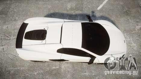 McLaren 650S Spider 2014 [EPM] Bridgestone v3 для GTA 4 вид справа