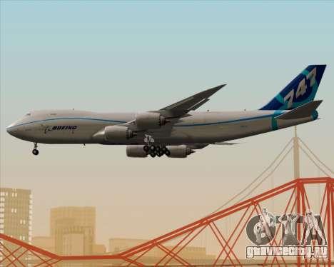 Boeing 747-8 Cargo House Livery для GTA San Andreas вид снизу