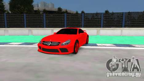 Mercedes Benz SL65 AMG Black Series для GTA 4