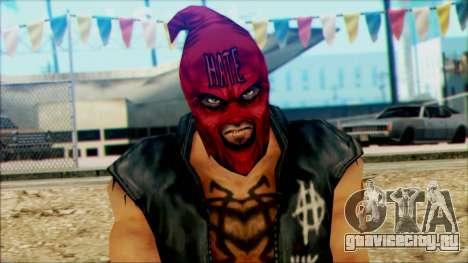 Manhunt Ped 19 для GTA San Andreas третий скриншот