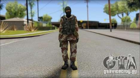 Soviet Soldier для GTA San Andreas