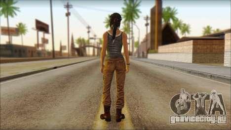 Tomb Raider Skin 11 2013 для GTA San Andreas второй скриншот