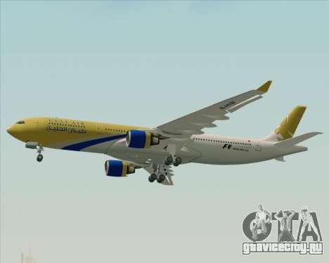 Airbus A330-300 Gulf Air для GTA San Andreas вид сверху