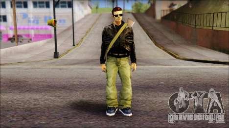Shades and Gun Claude v2 для GTA San Andreas