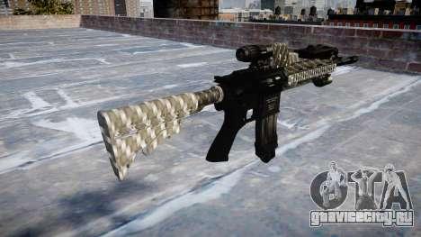 Автоматический карабин Colt M4A1 carbon fiber для GTA 4 второй скриншот