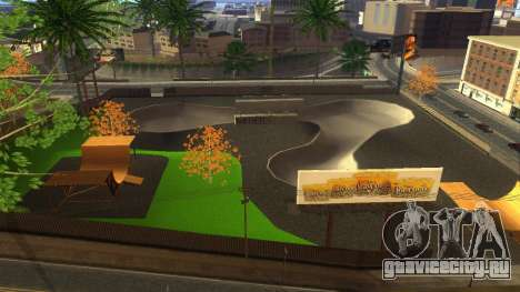 HD Текстуры скейт-парка и госпиталя V2 для GTA San Andreas седьмой скриншот