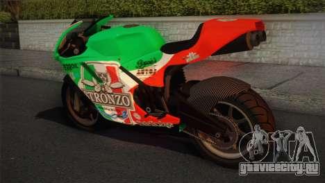 Bati RR 801 Stronzo для GTA San Andreas вид слева