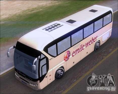 Neoplan Tourliner Emile Weber для GTA San Andreas вид сзади