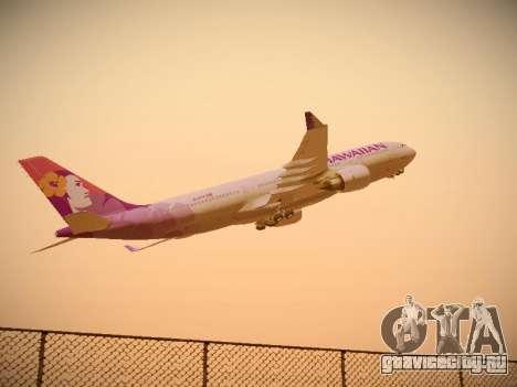 Airbus A330-200 Hawaiian Airlines для GTA San Andreas