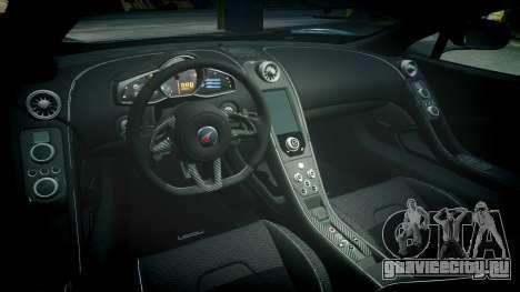 McLaren 650S Spider 2014 [EPM] Yokohama ADVAN v3 для GTA 4 вид изнутри