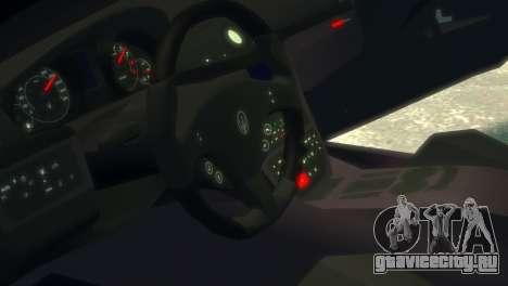 Maserati Gran Turismo MC Stradale 2014 для GTA 4 вид изнутри