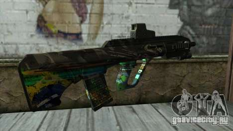 AUG A3 from PointBlank v3 для GTA San Andreas второй скриншот