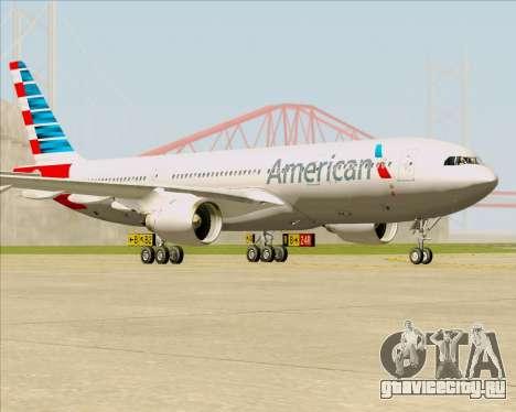 Airbus A330-200 American Airlines для GTA San Andreas вид слева