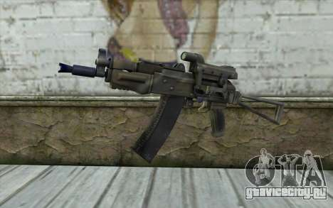 AK74U from Battlefield 2 для GTA San Andreas