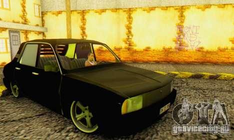 Dacia 1310 TLX PRN для GTA San Andreas вид сзади слева