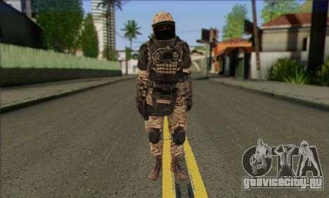 Task Force 141 (CoD: MW 2) Skin 15 для GTA San Andreas