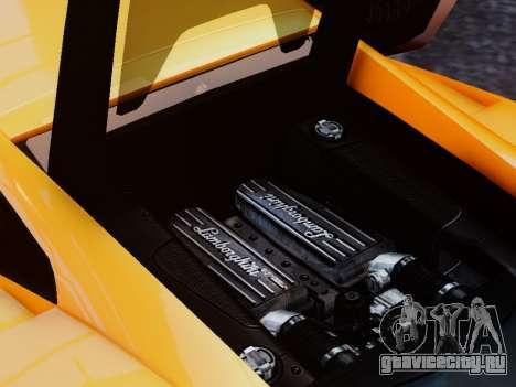 Lamborghini Gallardo LP560-4 для GTA 4 вид изнутри