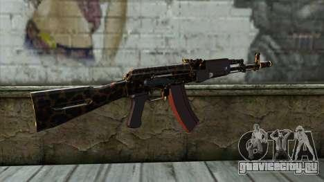 Graffiti AK47 для GTA San Andreas второй скриншот