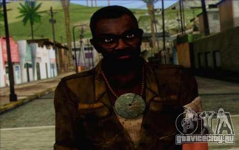 Деннис Роджерс (Far Cry 3) для GTA San Andreas третий скриншот