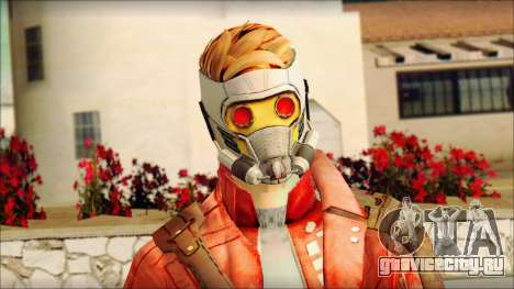 Guardians of the Galaxy Star Lord v2 для GTA San Andreas третий скриншот