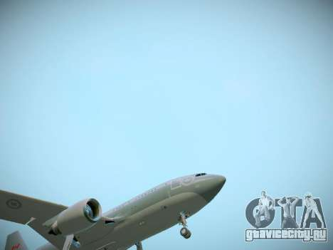 Canadian Forces Airbus CC150 Polaris для GTA San Andreas вид снизу