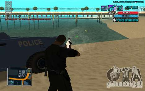 C-HUD by WH edited Mr_Zlo для GTA San Andreas
