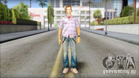 Marty from Back to the Future 1985 для GTA San Andreas