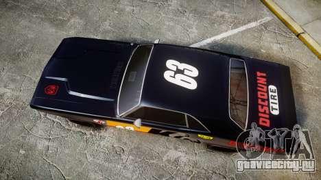 Dodge Challenger 1971 v2.2 PJ8 для GTA 4 вид справа
