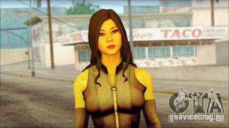 Psylocke Deadpool The Game Cable для GTA San Andreas третий скриншот