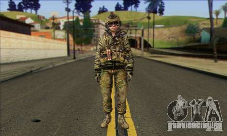 Task Force 141 (CoD: MW 2) Skin 11 для GTA San Andreas