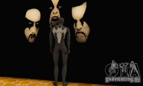 Skin The Amazing Spider Man 2 - Molecula Estable для GTA San Andreas третий скриншот