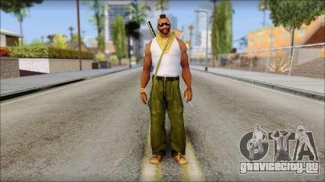 MR T Skin v10 для GTA San Andreas