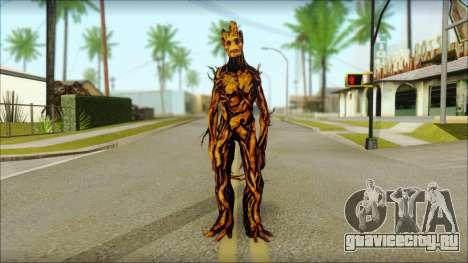 Guardians of the Galaxy Groot v2 для GTA San Andreas