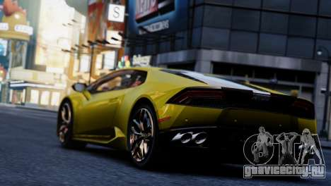 Lamborghini Huracan LP610-2 Valentino Balboni для GTA 4 вид справа