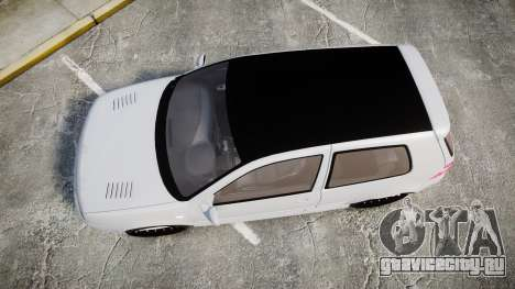 Volkswagen Golf Mk4 R32 Wheel2 для GTA 4 вид справа