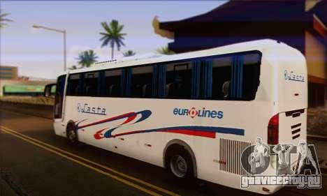 Volvo Lasta Bus для GTA San Andreas вид слева