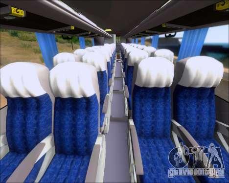 Busscar Elegance 360 Viacao Nordeste 8070 для GTA San Andreas вид снизу
