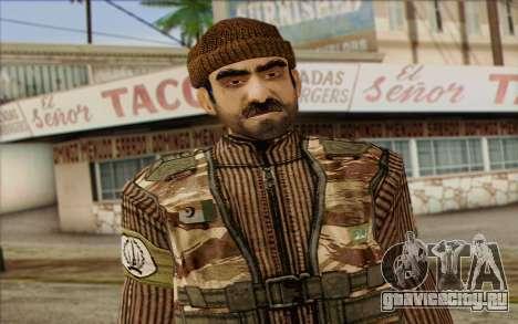 Солдат МЕК (Battlefield 2) Skin 2 для GTA San Andreas третий скриншот