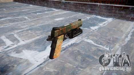 Пистолет Kimber 1911 Jungle для GTA 4 второй скриншот