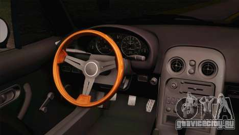 Mazda Miata для GTA San Andreas вид сзади слева