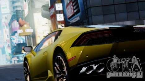 Lamborghini Huracan LP610-2 Valentino Balboni для GTA 4 вид изнутри