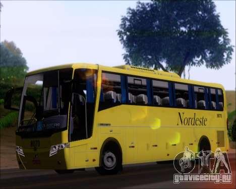 Busscar Elegance 360 Viacao Nordeste 8070 для GTA San Andreas вид изнутри