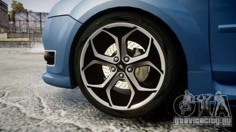 Ford Focus ST 2005 Rieger Edition для GTA 4 вид сзади
