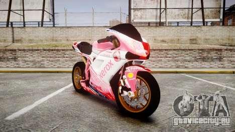 Ducati 1198 R для GTA 4