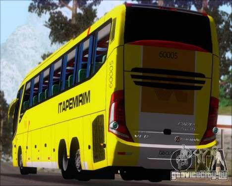 Marcopolo Paradiso 1200 G7 Viacao Itapemirim для GTA San Andreas вид сбоку