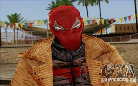 Red Hood from DC Comics для GTA San Andreas третий скриншот