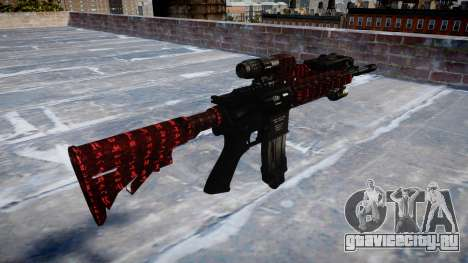 Автоматический карабин Colt M4A1 art of war для GTA 4 второй скриншот