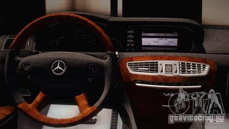 Mercedes-Benz CL63 AMG для GTA San Andreas вид сзади слева